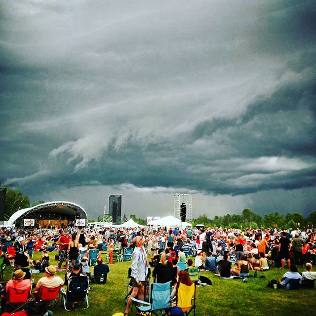 #tbt to the time we were shooting @winnipegfolkfestival and I thought we might need to call the Ghostbusters. #storm #winnipegfolkfest #weather #Manitoba #ghostbusters #whoyougonnacall #cantwaitforsummer